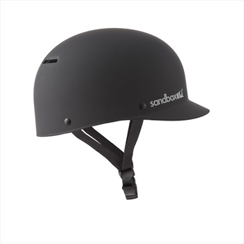 Sandbox Classic Low Rider Brim Wakeboard Helmet, S Black 2020