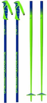 Kerma Adult Unisex Vector Pair Of Ski Poles, 125cm Blue