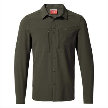 Craghoppers NosiLIfe Pro III Long Sleeve Shirt, S Dark Khaki