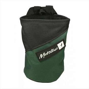 Metolius Competition Rock Climbing Chalk Bag, Green/Black