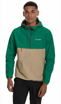 Berghaus Corbeck Smock Windproof Pullover Jacket, S Lush Meadow/Beige