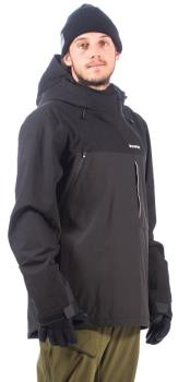 Bonfire Beta Stretch Pullover Ski/Snowboard Jacket, L Black