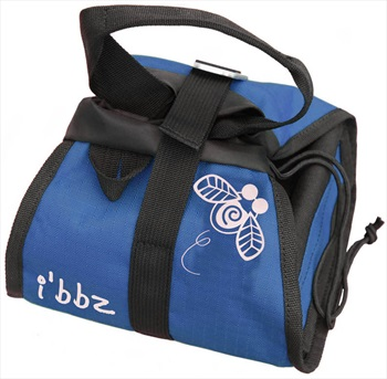 i'bbz V10 Bouldering Bucket Climbing Chalk Bag, One Size Blue