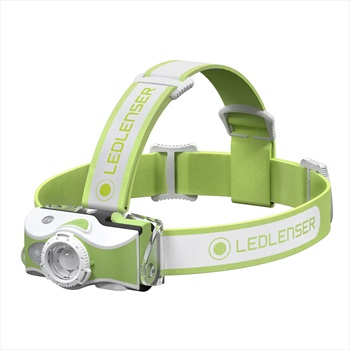Led Lenser MH7 Headlamp IPX54 Rechargeable Led Head Torch, Green