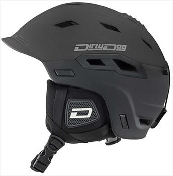 Dirty Dog Crater Snowboard/Ski Helmet, S Matte-Black