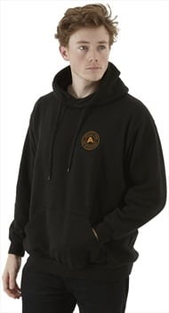 Absolute Snow Logo Pullover Hoodie, S Black