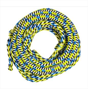 Jobe Bungee Impact Absorbing Tube Rope, 49ft / 14.9m Yellow Blue