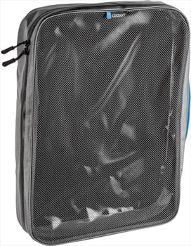 Cocoon Packing Cube With Open Net Top Travel Organiser, XL Black