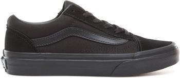 Vans Old Skool Kid's Skate Shoes, UK Child 13 Black/Black