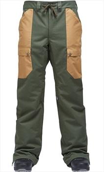 Airblaster Freedom Cargo Ski/Snowboard Pants, L Kombu Green