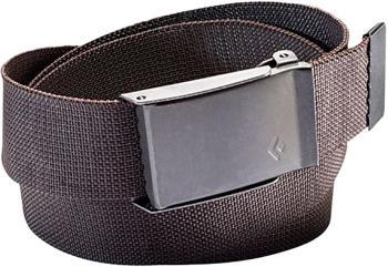 Black Diamond Forge Adjustable Webbing Belt, OS Mocha Nickel