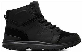 DC Adult Unisex Torstein Men's Winter Boots, UK 9 All Black