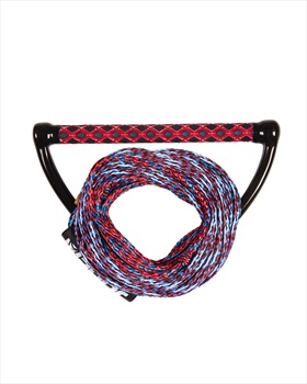 Jobe Prime Wake Rope   Handle Combo, 55 Ft. Red Blue