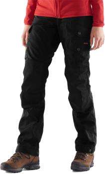 Fjallraven Vidda Pro Short Women's Hiking Trousers, 44 Black