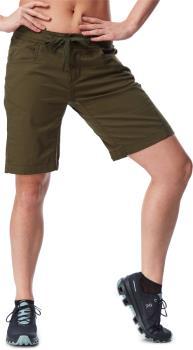 Black Diamond Credo Shorts Women's Rock Climbing Shorts, UK 14 Green
