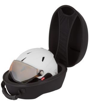 Manbi Hard-Protective Ski/Snowboard Helmet Case, One Size Black