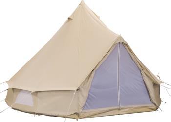 Bo-Camp Streeterville Family Camping Bell Tent, 6 Man Beige