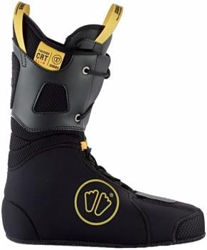Sidas Thermo CRT Slim Thermoformable Ski Boot Liner, 25.5 Black