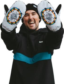 bro! Shred Love Ski/Snowboard Mittens, L/XL