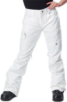 Burton Gloria Women's Ski/Snowboard Pants, M Stout White