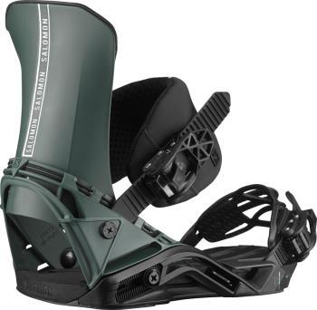 Salomon District Snowboard Binding, M Green/Black 2021
