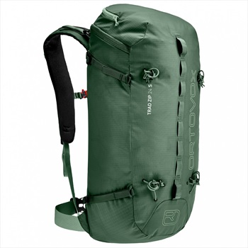 Ortovox Trad 24 S Climbing & Mountaineering Pack, 24L Forest Green