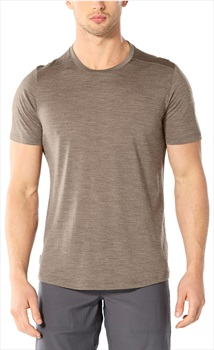 Icebreaker Cool-Lite Sphere Short Sleeve, M Driftwood Heather