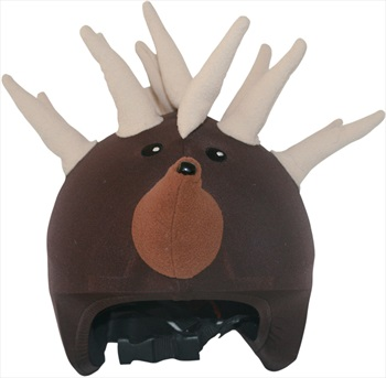 Coolcasc Animals Ski/Snowboard Helmet Cover, One Size, Hedgehog