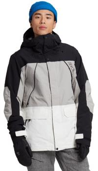 Burton Breach Ski/Snowboard Jacket, M True Black/Stout