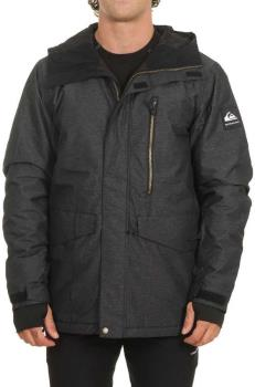 Quiksilver Mission Ski/Snowboard Jacket, L Black