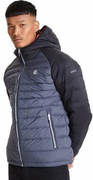 Dare 2b Intuative II Insulated Down Fill Jacket, S Ebony Grey/Black