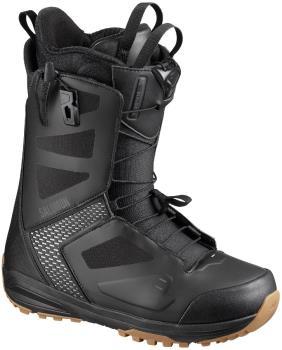 Salomon Dialogue Wide JP Mens Snowboard Boots, UK 9.5 Black/Grey 2020