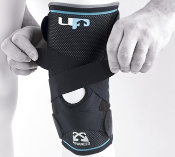 Ultimate Performance Advanced Compression Knee Support, XL Black