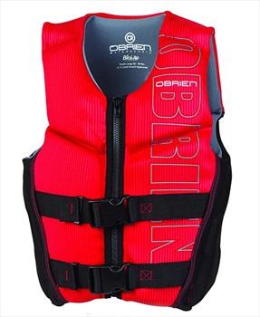 O'Brien Kids Neo V Back HMZ Buoyancy Aid, Youth L Red 2021