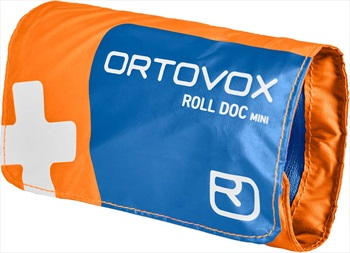 First Aid Roll Doc Mini First Aid Kit, Shocking Orange