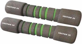 Vector X Adult Unisex Soft Foam Fitness Dumbbells, 0.5kg Grey