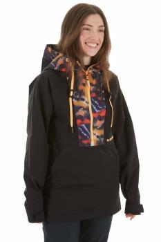 Armada Saint Pullover Women's Ski/Snowboard Jacket, M Black Flutter