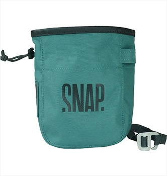 Snap Pocket Rock Climbing Chalk Bag, 17 X 13 X 7 Cm, Green