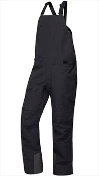 Haglofs Nengal 3L PROOF Snowboard/Ski Bib Pants, XL True Black