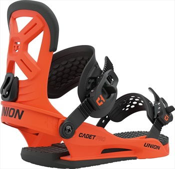 Union Cadet Pro Kids Snowboard Bindings, M Union Orange 2021