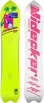 Nidecker Liberty Classic Hybrid Camber Snowboard, 155cm Wide 2021