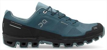 On Cloudventure Waterproof Men's Running Shoes, UK 8 Storm/Cobble