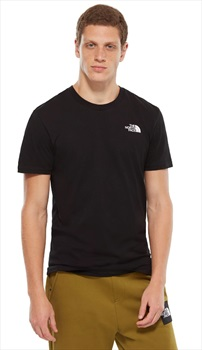 The North Face Simple Dome Men's Short Sleeve T-Shirt, XL TNF Black