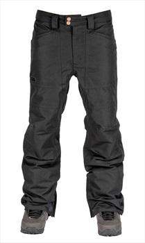 L1 Premium Goods Adult Unisex Americana Ski/Snowboard Pants, S Black