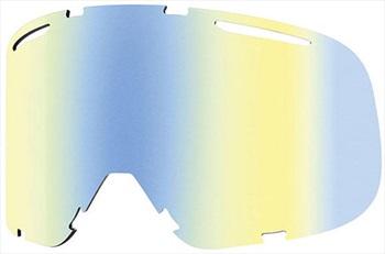 Smith Riot Snowboard/Ski Goggles Spare Lens, Yellow Sensor Mirror