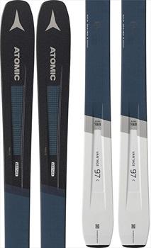 Atomic Vantage 97 C Skis, 172cm Blue/Grey Ski Only 2020