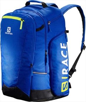 Salomon Extend Go-To-Snow Ski/Snowboard Backpack, 50L Blue/ Yellow