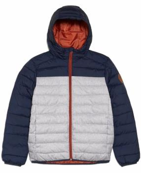 Quiksilver Scaly Mix Youth Padded Puffer Jacket, Age 11-12 Moonlight