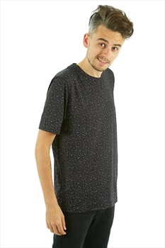 Wearcolour Raise Tee Men's Sports T-shirt, S Black Spray
