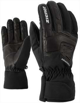 Ziener Glyxus AS® Men's Ski/Snowboard Gloves, M Black
